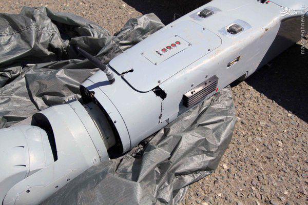سقوط پهپاد اسراییلی در ارمنستان+عکس