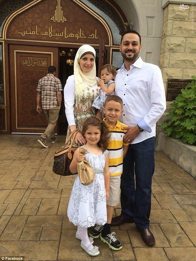 عکس/ اخراج یک خانواده مسلمان آمریکایی از هواپیما