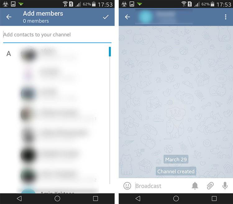 آموزش ساخت کانال در تلگرام و تفاوتهای آنها +عکس