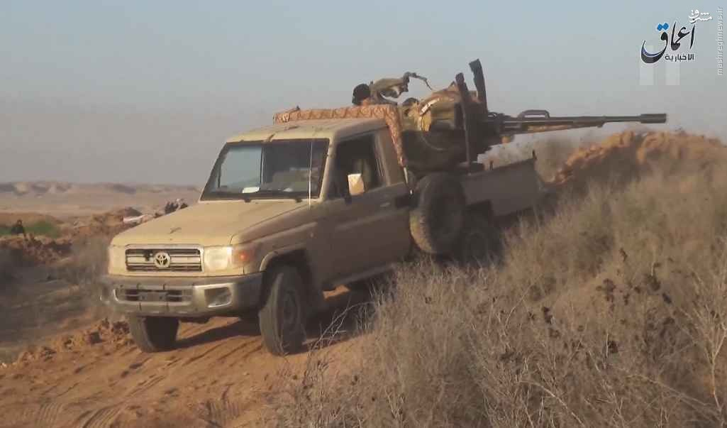 هجوم جدید داعش به دیرالزور+فیلم و عکس