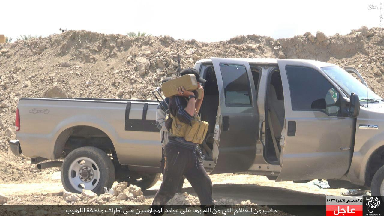 نبردهای حاشیه فلوجه به روایت داعش+عکس