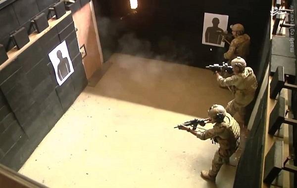کلاه سبزهای نزاجا به جنگ سیاه جامگان داعش رفتند (آماده نیست)