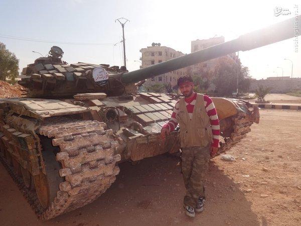 بمباران شیمیایی کردهای حلب+عکس