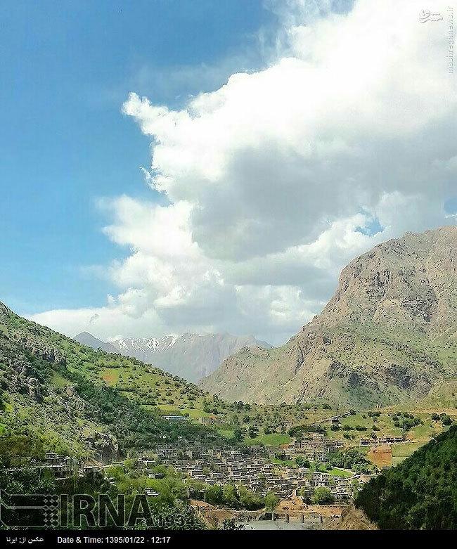 عکس/ طبیعت فوقالعاده روستای سلین