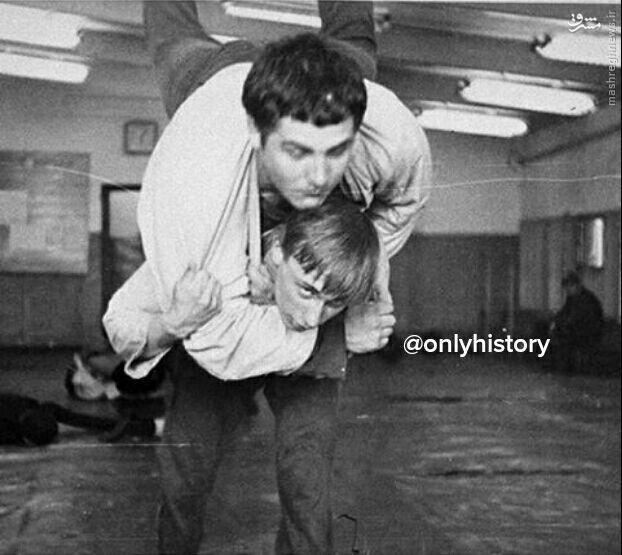 عکس/ تمرینات سخت پوتین در جوانی
