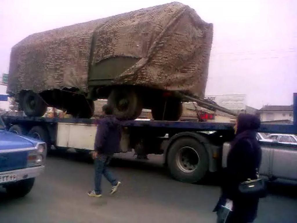 عکس/ ورود اولین محموله اس 300 به ایران
