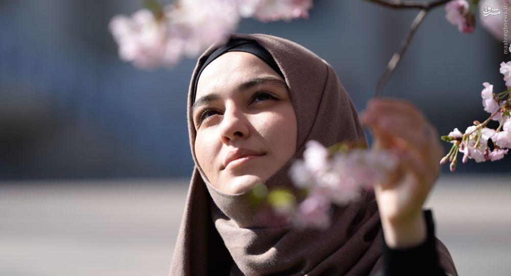 خانم دکتر روس که عاشق حجاب زنان ایرانی شد + عکس
