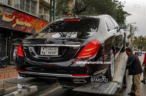 عکس/ ورود اس 500 میباخ به تهران
