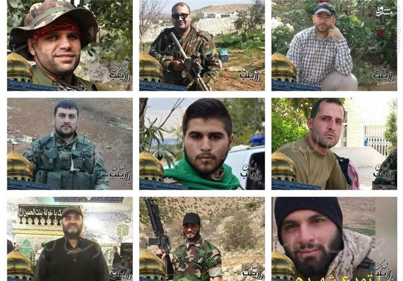 ۱۲ مدافع حرم لبنانی طی ۱۰ روز گذشته به شهادت رسیدند+عکس