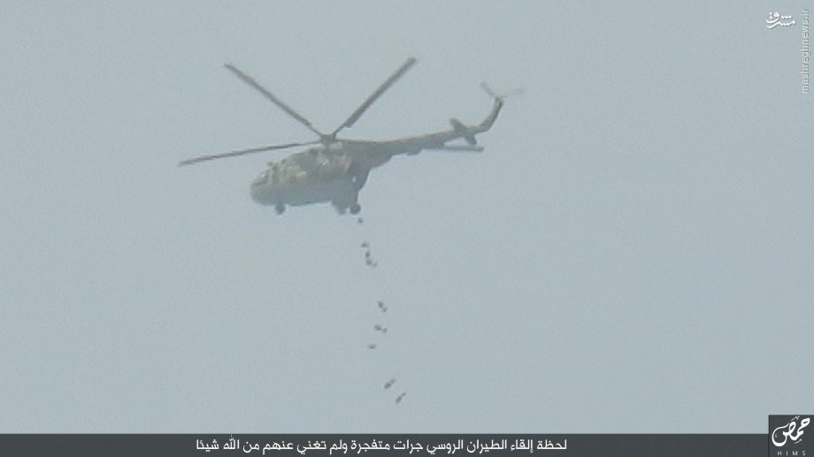 نبردهای تدمر به روایت داعش!+عکس