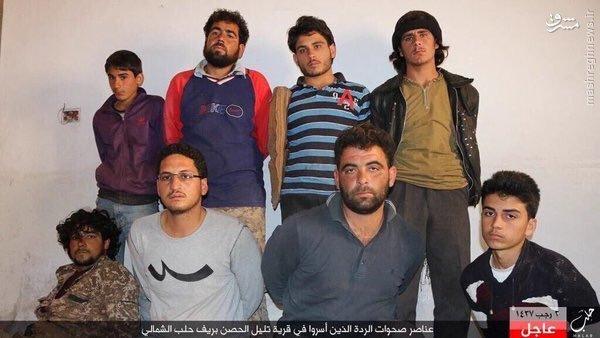 غنائم داعش از ارتش آزاد در شمال حلب+عکس