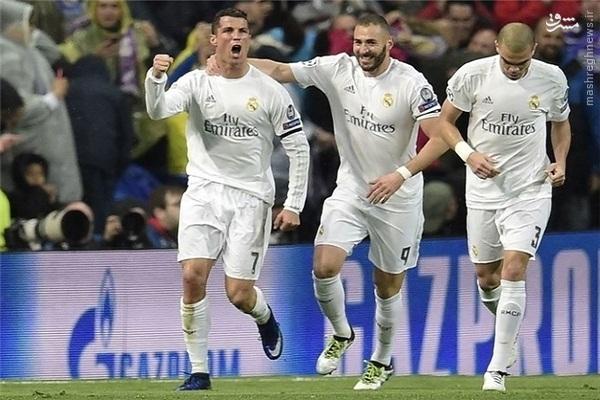صعود رویایی رئال مادرید در شب درخشش رونالدو/ صعود منچسترسیتی با حذف میلیاردرها