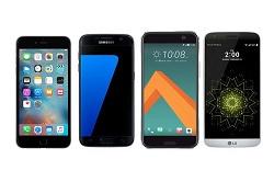 مقایسه آخرین گوشی HTC با گلکسی S7 و آیفون 6S +جدول
