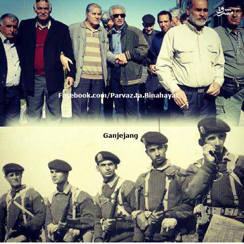 عکس/دیروز و امروز تکاوران مدافع خرمشهر