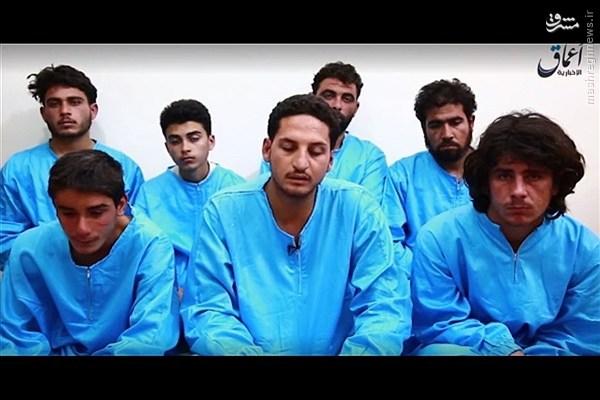 عکس/ لباس جدید اسیران داعش