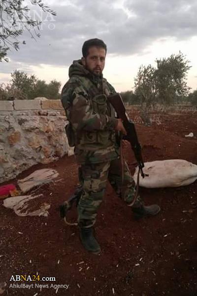 شهادت یک رزمنده شیعه سوری در استان حلب+ عکس