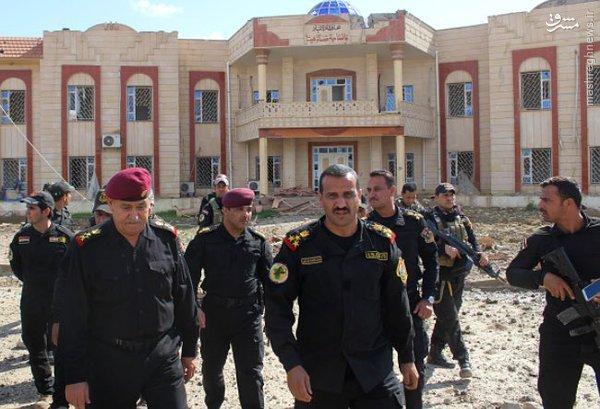 پایان پاکسازی کامل شهر هیت عراق+عکس