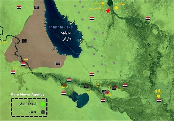 آخرین وضعیت عملیات آزادسازی شهر «هیت» عراق