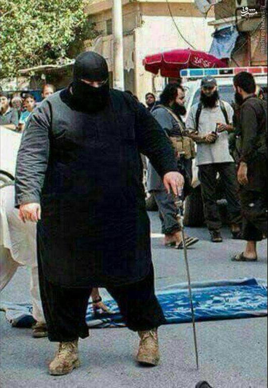 عکس/ داعشی چاق