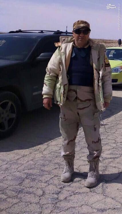 شهادت فرمانده کماندوهای دریایی ارتش سوریه+عکس
