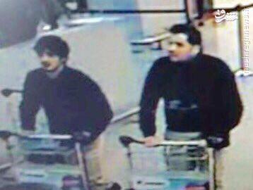 مظنونان احتمالی بمب گذاری انتحاری فرودگاه بروکسل + عکس