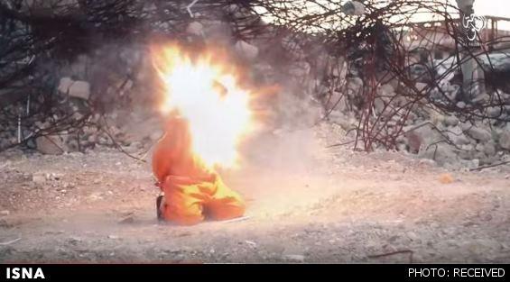 اعدام هولناک 8 عراقی توسط داعش + عكس