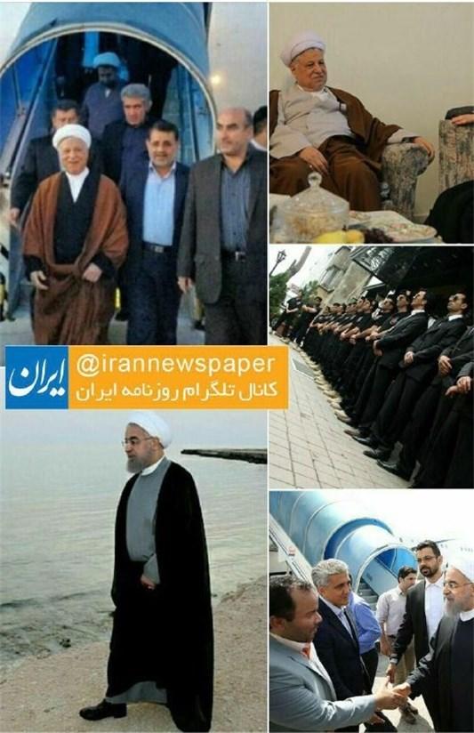 چه کسانی به شایعات سفر هاشمی به کیش دامن زدند؟