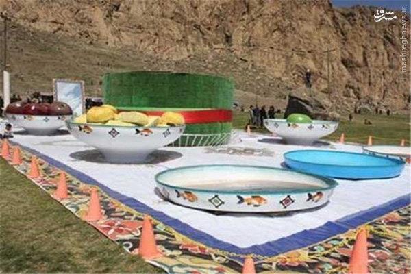 عکس/ بزرگترین سفره هفت سین ایرانی