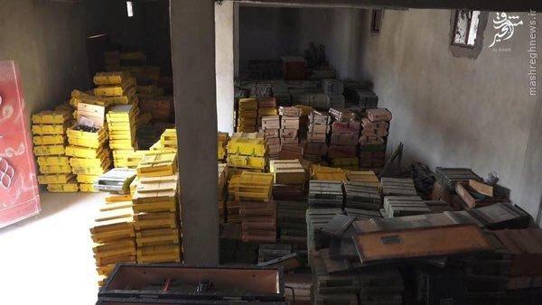 عکس/ محموله عظیم تسلیحات در اختیار داعش