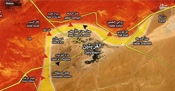 دفع حمله داعش به شمال حلب توسط ارتش سوریه/نبرد ارتفاعات در اطراف تدمر/دور جدید جنگ کفتارها در جنوب سوریه/پاتک خونین نظامیان سوری علیه داعش در دیرالزور