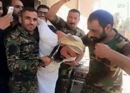 اسارت قاضی داعش در تدمر توسط ارتش سوریه+عکس