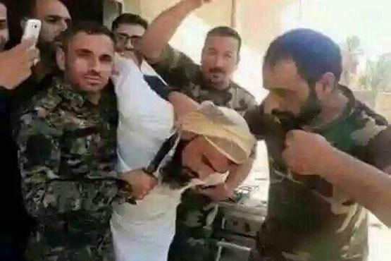 مفتی داعش در پالمیرا گرفتار شد +عکس