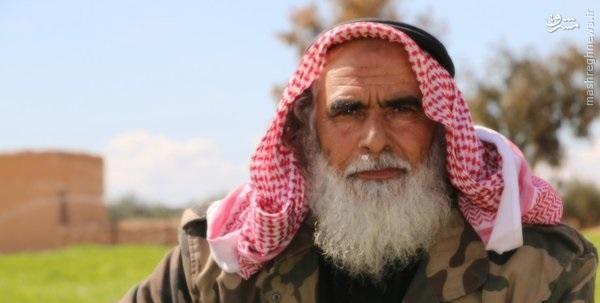 حمله انتحاری پیرمرد داعشی به مواضع کردهای سوریه+عکس