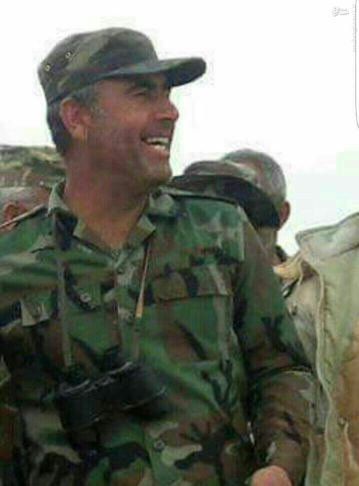 شهادت فرمانده ارشد ارتش سوریه در تدمر+عکس