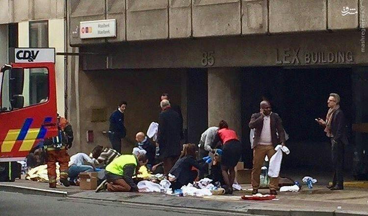 اعلام سوابق و مسخصات عوامل حملات انتحاری بلژیک+عکس