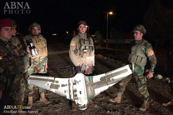 سرنگونی یک پهپاد جاسوسی داعش در عراق+عکس