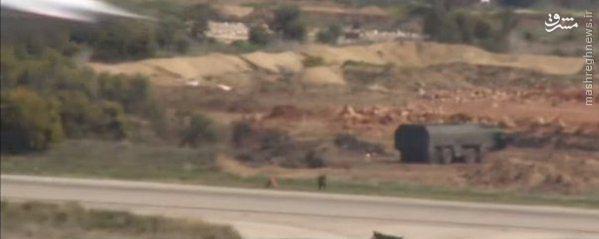 استقرار موشک پیشرفته اسکندر در فرودگاه لاذقیه+عکس