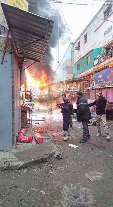 15 کشته و زخمی در دو انفجار صبح امروز بغداد