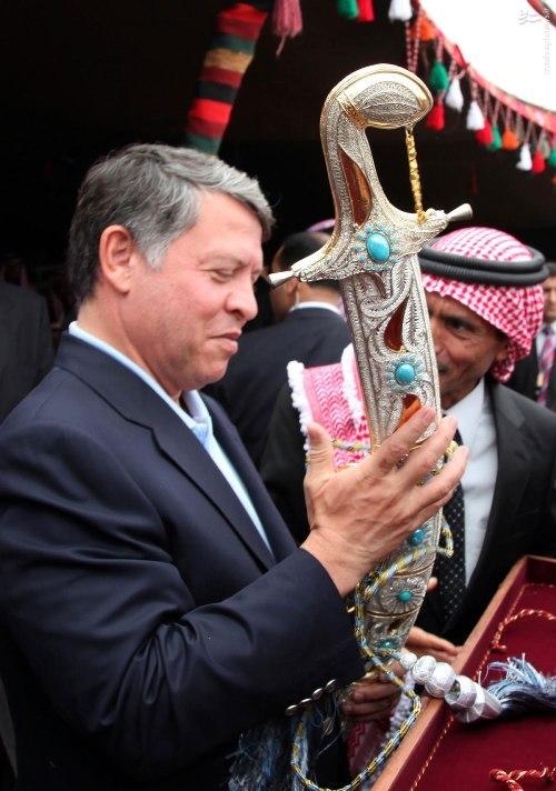 جنجال سفرهای خارجی ملک عبدالله دوم/ پادشاه اردن 30 درصد روزهای سال2016 را در سفر بود/اماده انتشار /آقای غلامی