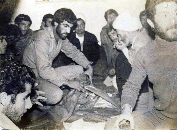 عکس/ هاشمی رفسنجانی در سپاه