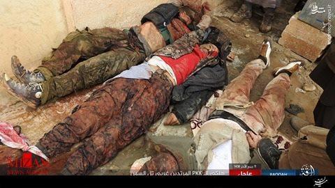 حمله خونین داعش علیه نیروهای کُرد سوریه +عکس(+16)