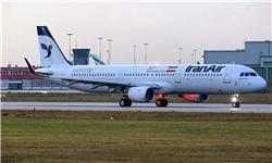 هواپیمای ایرباس A۳۲۱ طی مراسمی به ایران تحویل شد