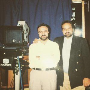 عکس قدیمی از دو مجری معروف سیما