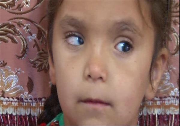 استمداد «ستایش» 6 ساله از مردم ایران زمین +عکس