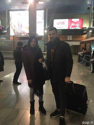 عکس/ رادوشوویچ و همسرش در تهران