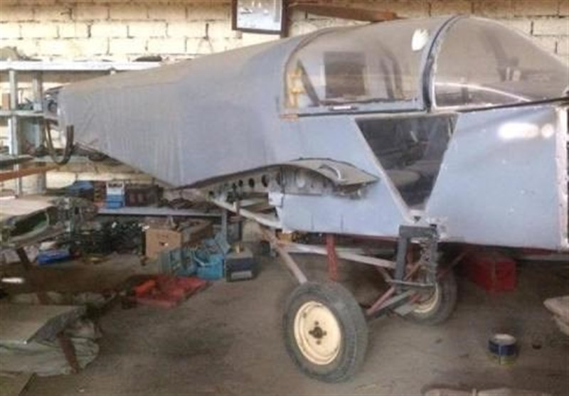 هواپیمای درحال ساخت داعش در موصل به دست نیروهای امنیتی افتاد + عکس