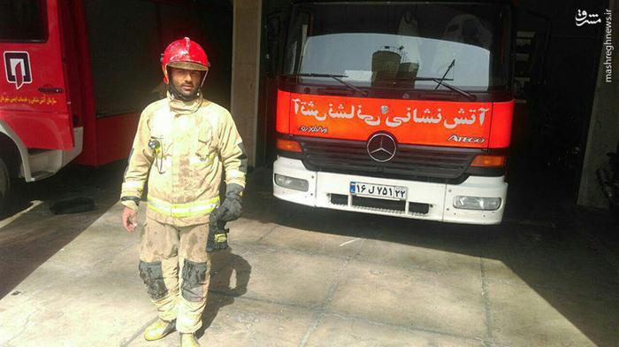 حواشی صبح روز حادثه دلخراش پلاسکو/ خطر فرو ریختن پاساژ کویتی+تصاویر و فیلم