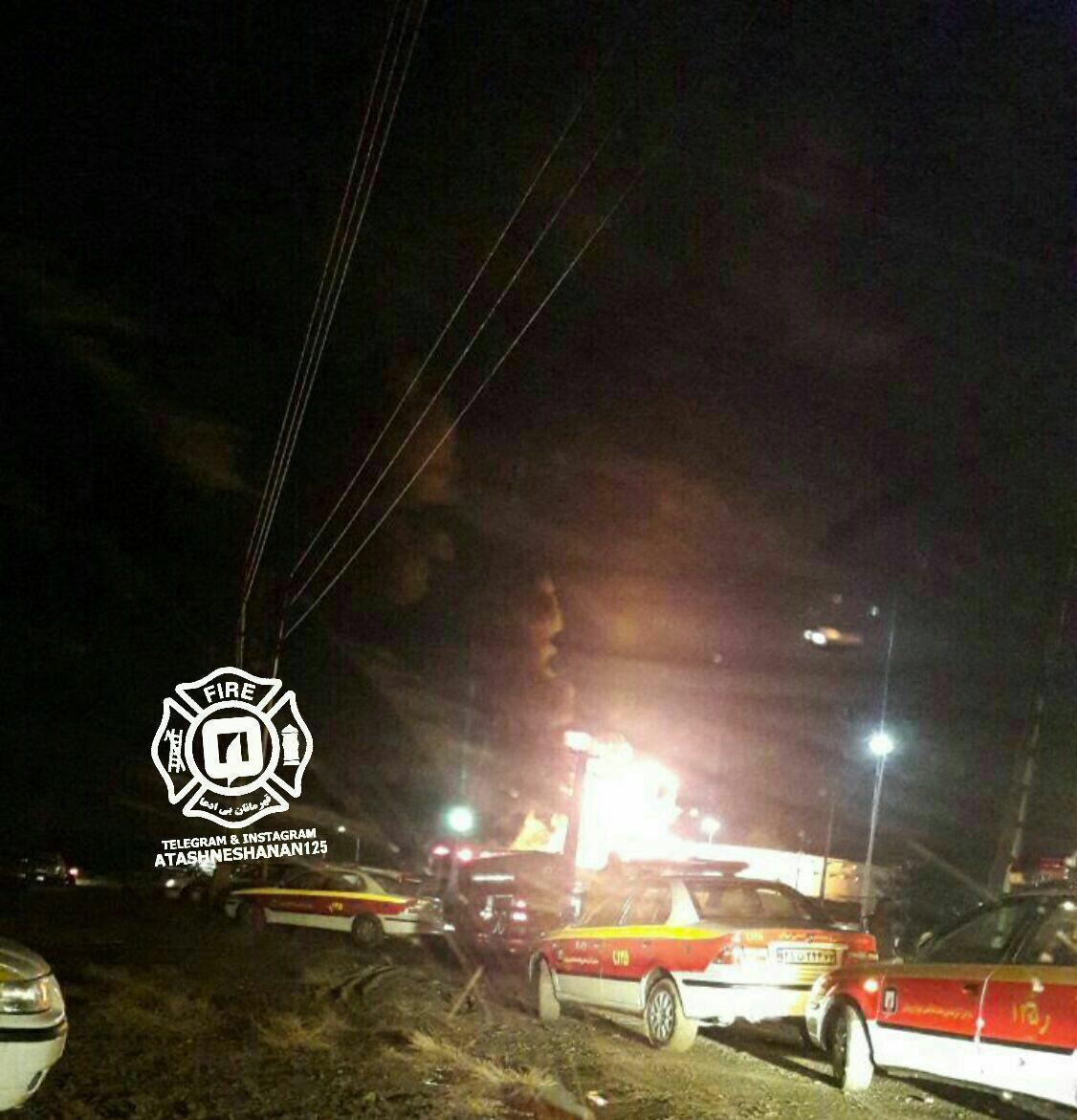 جزئیات آتش سوزی در پالایشگاه شهید تندگویان +عکس