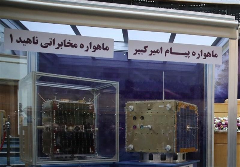 ماهواره های ایرانی ناهید و پیام رونمایی شدند