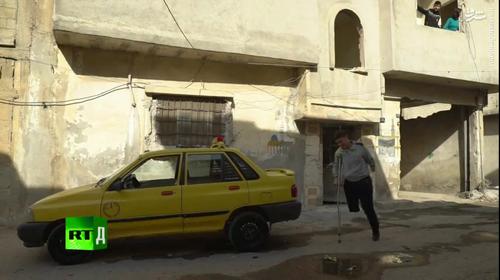 مقاومت در سوریه سوار بر پراید +عکس و فیلم